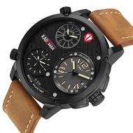 KADEMAN Men's Watch 30M Waterproof and Shockproof Sports Watch Top Quality Brand Watch Casual Leather Luxury Male Clock Relogio Masculino
