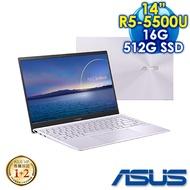 ASUS華碩 ZenBook 14 UM425UA-0042PR55500U 星河紫(R5-5500U/16G/512G PCIe/W10/FHD/14吋)