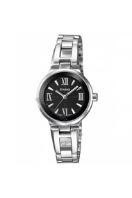 CASIO นาฬิกาผู้หญิง สายสแตนเลส lady LTP-1340D-1AVDF - Silver