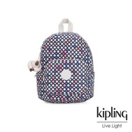【KIPLING】華麗閃耀繽紛簡約大容量後背包-MALCOM