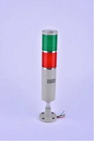แฟลช LED ไฟแสดงสถานะ DC12V/24 V/AC220V Rod ประเภท 2 สีสว่างบ่อยๆ Buzzer เครื่องมือเครื่อง CNC led Attention Light เตือนโคมไฟ