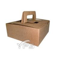 120cc八入牛皮紙手提盒 (麵包紙盒/野餐盒/速食外帶盒/點心盒)【裕發興包裝】JF135