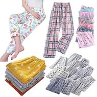Women Pajama Sleepwear for ladies Pajama Unisex Random Color Design Cute Print Sleepwear adult girls(size: 25-30)COD