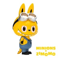 POP MART Labubu Zimomo X Minions小小兵聯名大型公仔玩