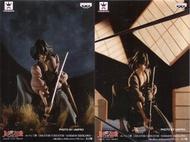 日版 CREATOR X CREATOR 魯邦三世 刀神 五右衛門 正常顏色+特別顏色 一套兩款 公仔 景品 寫真家 造型師