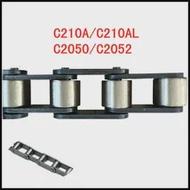 1PCS 1 M ความยาวอุตสาหกรรม Double PITCH สายพานลำเลียงเกียร์ Roller Drive CHAIN C210A/C210AL Big ลูกกลิ้งขนาดเล็ก c2050/C2052
