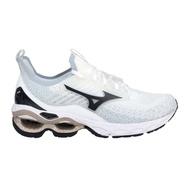 MIZUNO WAVE CREATION 22 WAVEKNIT 男慢跑鞋 J1GC213390 白黑金