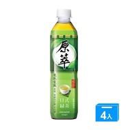 原萃日式綠茶580mlx4入/組【愛買】