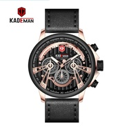 Kademan Original Leather Strap Jam Lelaki Men Watch Man Watch Man Watches Men Watches Ready Stock