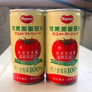 【特價出清】可果美 無鹽番茄汁 100%原汁 190ml