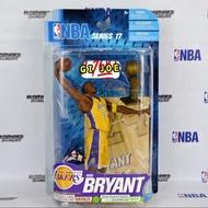 《現貨》全新McFarlane 麥法蘭  NBA 湖人隊 KOBE BRYANT 17代附獎杯 人偶公仔