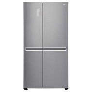 LG GS-M6262NS 626L SIDE BY SIDE FRIDGE, DOOR-IN-DOOR(NOBLE STEEL)***2 YEARS WARRANTY BY LG***