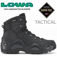 Lowa 軍靴/中筒軍用鞋/防水登山鞋(C) Z-6N GTX Mid 男 LW310682 0999黑