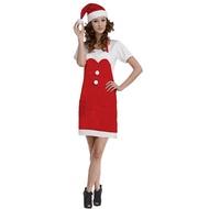 豪華二件式聖誕圍裙(大人)