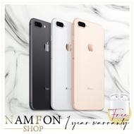 Apple iPhone 8 Plus 64GB (เครื่องนอกแท้) ประกัน 1 ปี