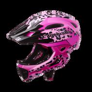 Cratoni C-Maniac Pro 2020 兒童安全帽 粉豹紋 /單車安全帽/ 頭盔/自行車