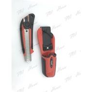 田島 Tajima 美工刀組 DC-L560+刀套 日本 (附收納盒) 紅款(轉款) 厚切專用 轉式美工刀 裁接