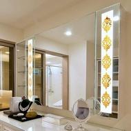 [KA Huse]10pcs DIY Adhesive Wallpaper Mirror Wall Sticker Home Living Room Decals