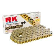 【Mr. Kiss】RK GV420MRU 黃金油封鍊條 RK鍊條 110L 鏈條 黃金鍊條 MSX Z125