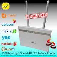 Upgraded CPE LTE 4G Sim Card modem CP101 unlimited hotspot router Unifi MAXIS CELCOM DIGI UMOBILE YES