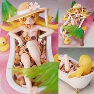 อะนิเมะ Oshino Shinobu Bath Crock โดนัทรุ่น Action Figure ของเล่นตุ๊กตาคริสต์มาสของขวัญ