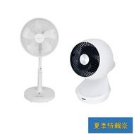 【DC扇系列】 禾聯14吋風扇、SOLAC 8吋循環扇