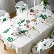 桌巾 棉麻桌旗現代簡約北歐風格裝飾布長條桌布套裝餐桌茶幾茶臺清新巾