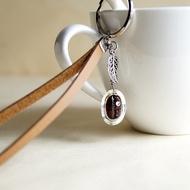 咖啡豆鑰匙圈 - 真實咖啡豆創作  鑰匙圈 吊飾 咖啡豆 飾品 咖啡 禮物 (可改為吊飾)