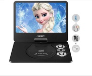 "32B Portable Mobile TV Player DVD Player CD USB Player 9"" Black"