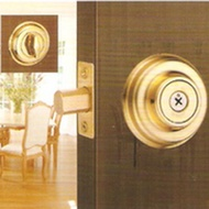 WACH 花旗門鎖 W101-13 輔助鎖 鎖閂60mm 十字鎖 金色 補助鎖 單鎖頭(單面輔助鎖 硫化銅門 通道鎖)