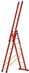 Zarges Aluminium Combination Ladder 24 steps 6.54m open length