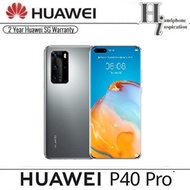 Huawei P40 Pro Co-Engineered With Leica 5G /256GB ROM/8GB RAM/2 Yrs Warrenty