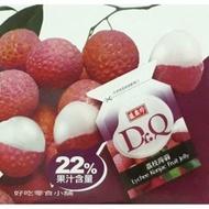 好吃零食小舖~盛香珍Dr.Q 荔枝蒟蒻果凍  量販盒6kg $780(780元)