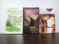 (Pre-loved) Below Deck, Hex And The City & Frederica in Fashion (3 books)