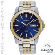 Seiko SNE502P1 Blue Face Solar Men's Watch