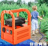 充電式抽水機 充電式抽水機充電式自吸泵家用便攜式澆菜水泵戶外澆菜水泵抽水機12V