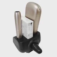 สำหรับIQOS 3.0อิเล็กทรอนิกส์บุหรี่รถเครื่องชาร์จE-Cigarette Holder Type-C Splitter OrganizerแบบพกพาAir Vent Bracket mount