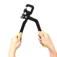 สตั๊ด Crimper Punch LOCK BOARD drywall เครื่องมือมือสองมือกระดูกงู