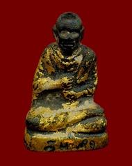 พระแท้ สมเด็จพระพุฒาจารย์ (โต พฺรหฺมรํสี) วัดระฆังฯ รูปหล่อ อุดกริ่ง กริ่งดัง ไหลลื่น สร้าง ปี 2495 ลงรัก ปิดทองเดิมๆ เก่า แท้ ดูง่ายครับ