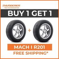 2pcs THUNDERER 185/65R15 MACH I R201 Car Tires