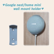 Wall Mount Holder For Google Nest/home Mini