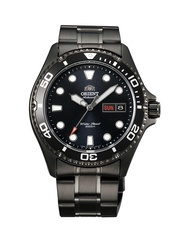 ORIENT AUTOMATIC DIVERS MENS CASUAL WATCH BLACK MAKO 2 AA02002B