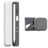 1 Pcs Portable Pencil Storage Box & 8 Pcs Pen Nib Case for Apple Pencil 2Nd Generation Silicone Pencil Tip Cover