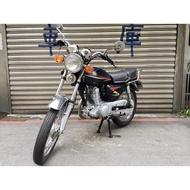 【寄賣】1999年三陽老野狼125CC化油器版(黑)