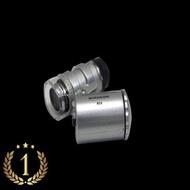 แว่นขยาย 60X กล้องจุลทรรศน์ กล้องขยาย กล้องส่องพระ ส่องเหรียญ ออกบิลvatได้ ส่งฟรี