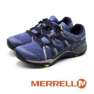 【MERRELL】Siren Hex Q2 E-Mesh 防水GORE-TEX郊山健行鞋 女鞋(藍紫)
