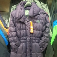 The north face 女羽絨長版外套