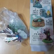 娃娃機 戰利品 精靈寶可夢 神奇寶貝 巴大蝴  蝴蝶與毛毛蟲 模型 玩具 盒玩 公仔 擺設 收藏
