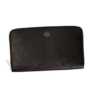 Tory Birch TORY BURCH / ROBINSON ZIP CONTINENTAL WALLET long wallet wallet # 11169071 16001 BLACK New spring first sale big special price!