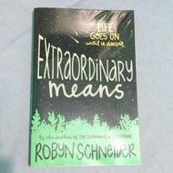 BOOKSALE - EXTRAORDINARY MEANS